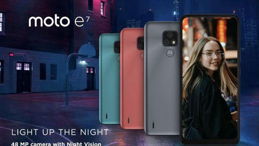 Moto E7 é anunciado com tela de 6,5 polegadas e câmera 48 megapixels