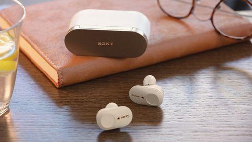 Sony WF-1000XM4 volta a vazar mostrando estojo menor e novo visual