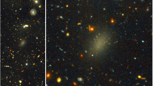 Galáxia a 300 milhões de anos-luz é composta por 99,9% de matéria escura
