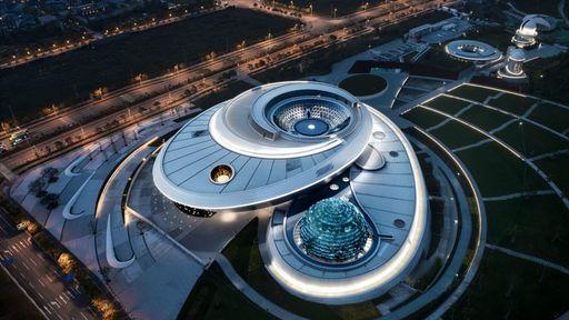 China inaugura o maior museu de astronomia do mundo nesta sexta (16)