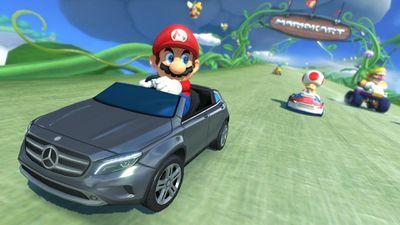Japoneses poderão jogar Mario Kart 8 com um Mercedes-Benz