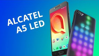 Alcatel A5 LED [Review / Análise] - Canaltech
