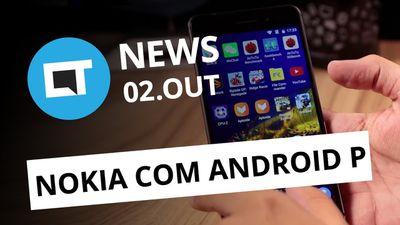 Nova versão do PlayStation VR;Aparelhos da Nokia vão receber Android P [CT News]