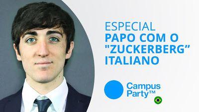 """Uma conversa com o """"Zuckerberg da Itália"""" [Especial   Campus Party 2015]"""