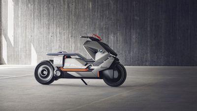 BMW cria conceito de moto elétrica digna de Blade Runner