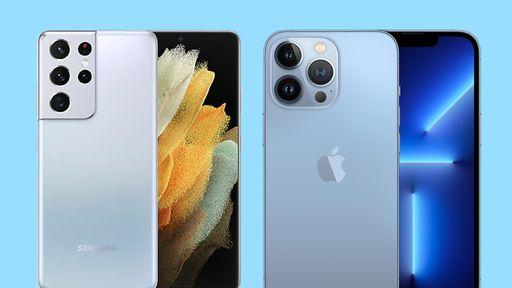 Galaxy S21 Ultra vs iPhone 13 Pro: testes mostram equivalência em câmeras
