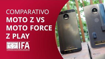 Moto Z, Moto Z Force ou Moto Z Play? [Comparativo]