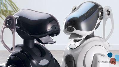 Cachorro robótico da Sony pode retornar equipado com assistente pessoal