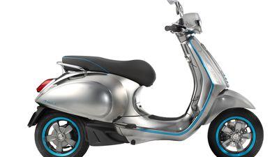 Vespa anuncia que sua scooter elétrica chega ao mercado em 2018