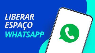 Como LIBERAR MUITO ESPAÇO no Android e iOS pelo WhatsApp