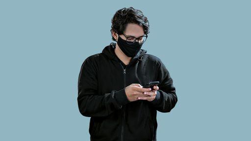 Como desbloquear o iPhone com Face ID usando máscara