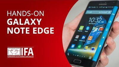 Galaxy Note Edge: vimos de perto o display curvo do novo Samsung [Hands-on | IFA