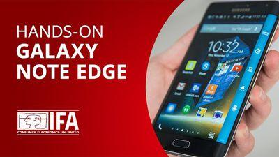 Galaxy Note Edge: vimos de perto o display curvo do novo Samsung [Hands-on | IFA 2014]