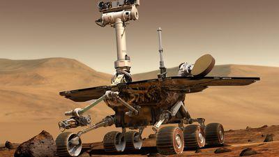 """Robô Opportunity, da NASA, pode """"morrer"""" graças a tempestade de poeira em Marte"""