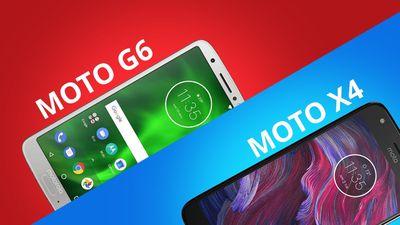 Motorola Moto G6 vs Moto X4 [Comparativo]