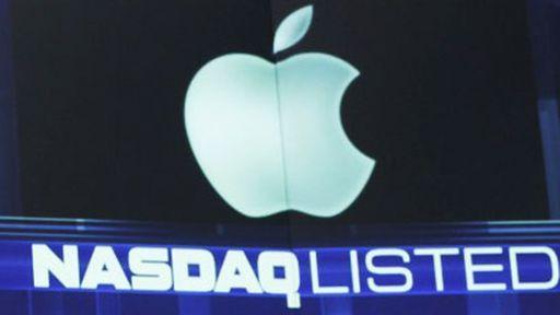 Ações da Apple sobem e batem recorde histórico nessa quarta-feira