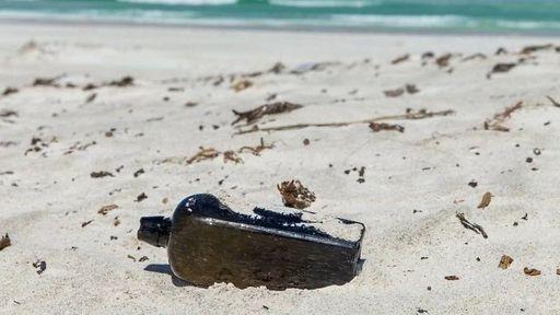 Garrafa jogada há 135 anos na Alemanha é encontrada na Austrália com mensagem