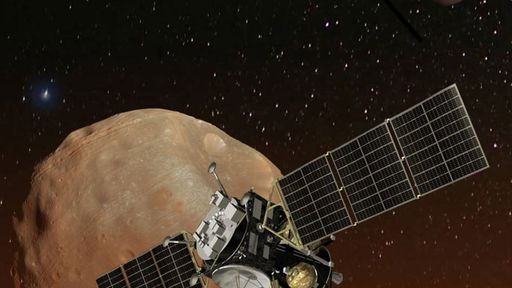 Japonesa JAXA quer enviar primeiro rover à lua marciana Fobos