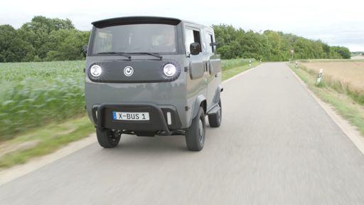 Conheça o XBus, carro elétrico que pode virar picape, furgão e até motorhome