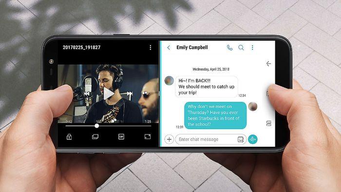 547565b72 Galaxy J6 e J4 chegam ao Brasil com TV digital e tela infinita - Smartphone