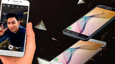 Samsung apresenta Galaxy J7 Prime com corpo de metal e sensor biométrico