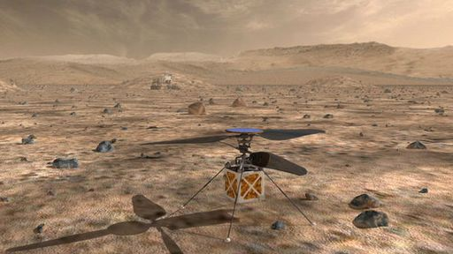 Além de rover, NASA também vai enviar um helicóptero para Marte em 2020