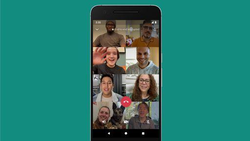 WhatsApp aumenta limite de chamadas em grupo para 8 pessoas