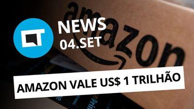 Amazon agora vale US$ 1 trilhão; Samsung Galaxy dobrável em 2018 e + [CT News]