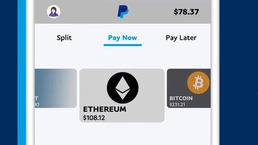 PayPal começa a permitir pagamentos em criptomoedas