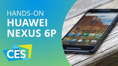 O fenomenal Nexus 6P da Huawei [Hands-on | CES 2016]