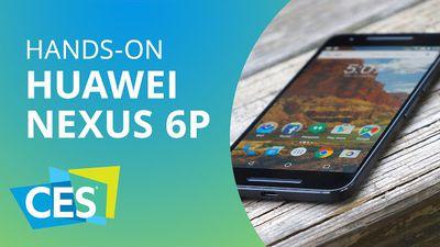 O fenomenal Nexus 6P da Huawei [Hands-on | CES 2016]