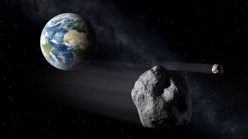 2019 teve recorde de asteroides chegando perto da Terra, segundo dados da ESA