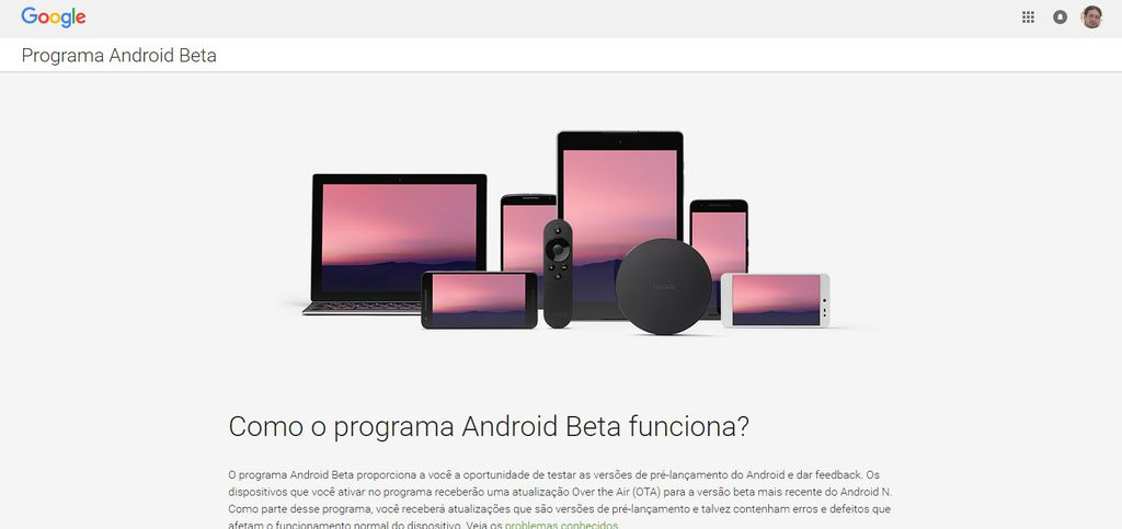 android beta