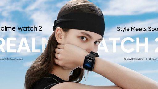 Realme Watch 2 é anunciado com autonomia de até 12 dias e preço baixo