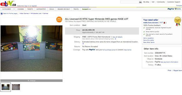 Venda no eBay