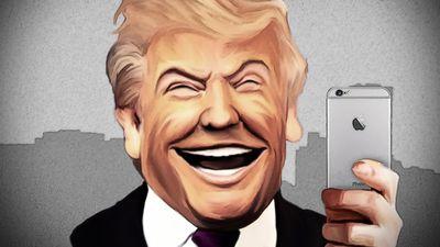 Por telefone, Donald Trump disse a Tim Cook que quer ajudar a Apple