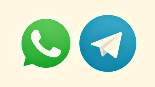 Instabilidade de WhatsApp e Telegram diminui em 47% mensagens entre criminosos