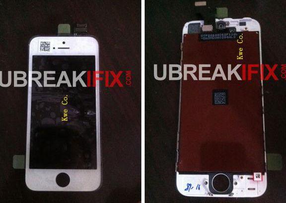 Imagens display iPhone 5