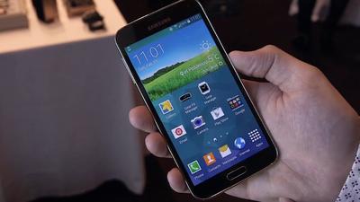 Vendas do Samsung Galaxy S5 já superam recorde do S4