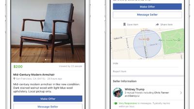 Facebook terá recurso de venda P2P no estilo OLX