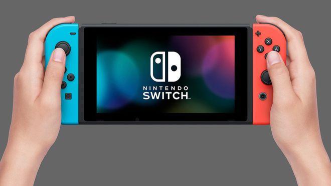 Neste modo, o Switch fica parecido com o GamePad do Wii U
