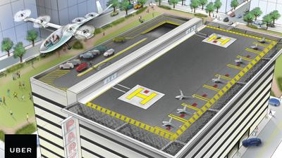 Uber quer usar carros elétricos voadores até 2021