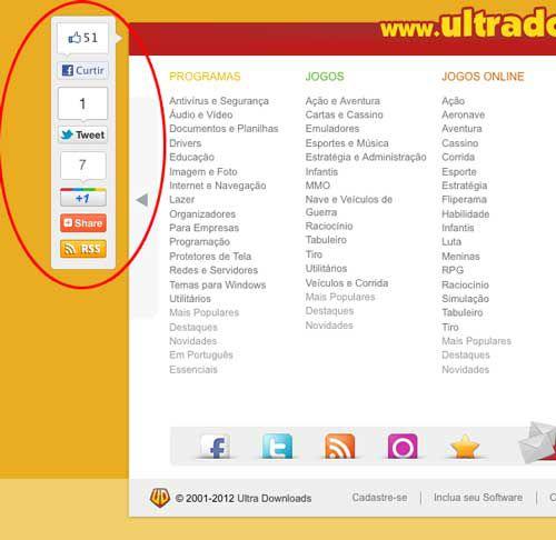 RSS do Ultra Downloads