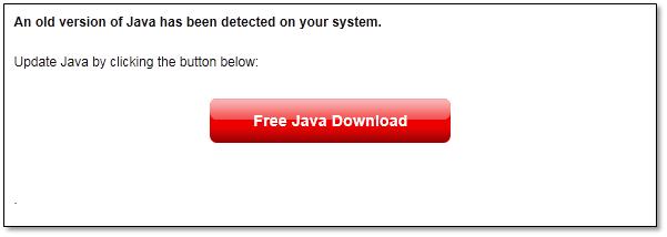 Atualização Java