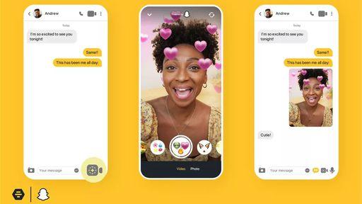 Bumble agora usa filtros de RA do Snapchat para facilitar os encontros online