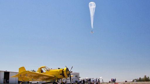 Google inicia testes do balões 'Loon' em Fresno, na Califórnia