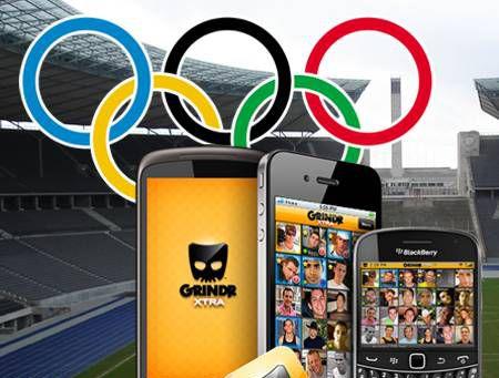 Grindr Olimpíadas