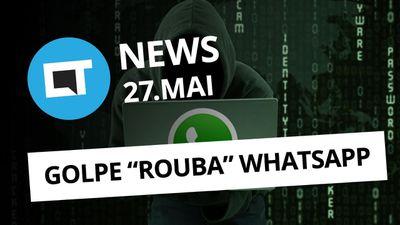 """Golpe """"rouba"""" WhatsApp; Primeiro PC 5G; ZenBook com duas telas 4K e + [CT News]"""