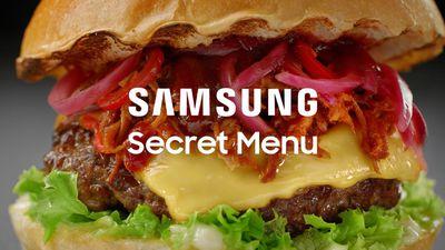 Menu secreto da Samsung mostra pratos feitos sob medida para donos dos Galaxy