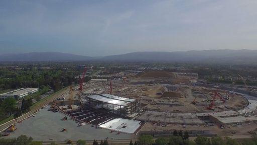 Apple Campus 2: veja o progresso da nova sede em imagens aéreas inéditas